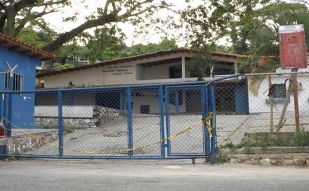 La sede se encuentra ubicada a pocos metros del CICPC. Foto. Cortesía Marcos Rivero. Diario de Los Andes.